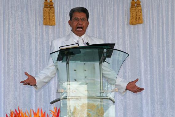Samuel Joaquín fue líder de la Luz del Mundo desde 1964. Foto: Cuartoscuro